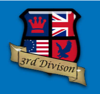 This image has an empty alt attribute; its file name is 3d3rddivisionshieldlogo.png